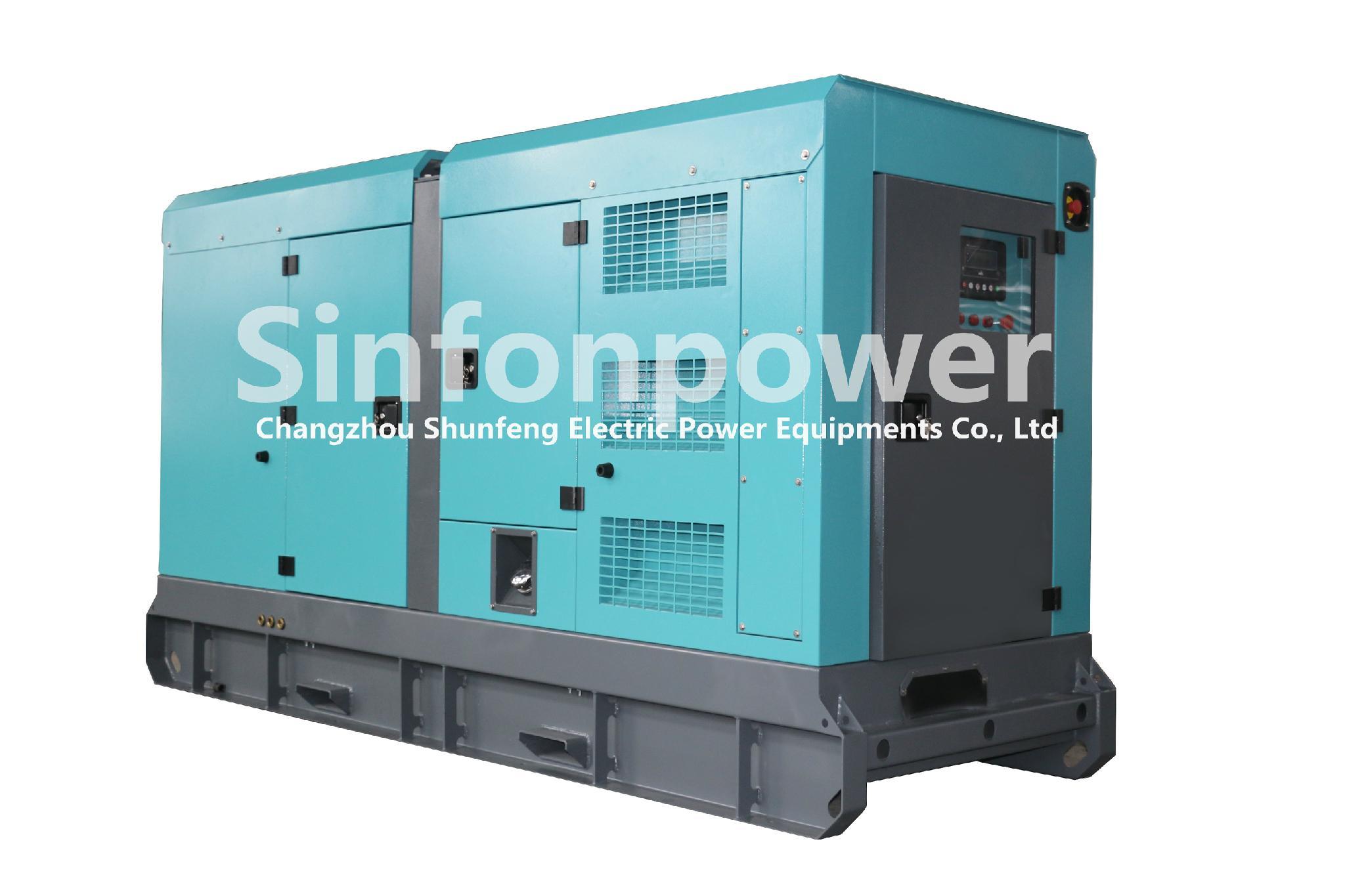 SP 280kW Perkins Diesel Generator Sinfonpower China