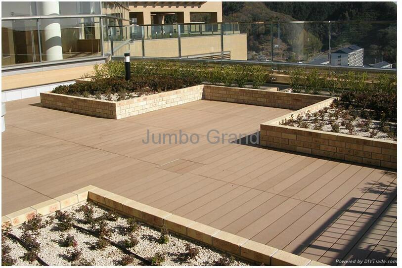 Outdoor decoration WPC flooring 150*25 3