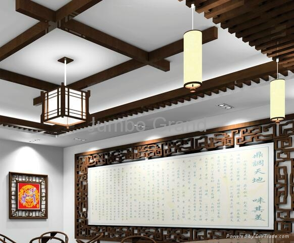 2016 New Design for Building Materials WPC Ceiling Wall Panel 2