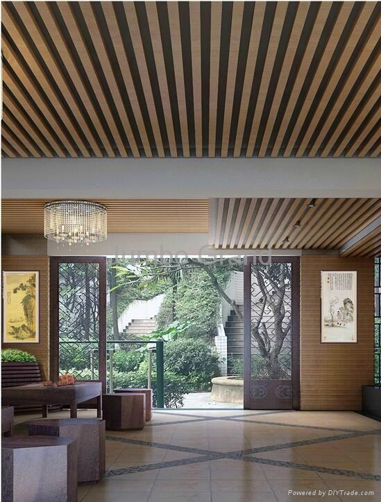2016 New Design for Building Materials WPC Ceiling Wall Panel 4