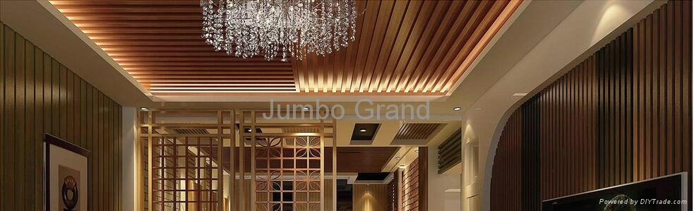 2016 New Design for Building Materials WPC Ceiling Wall Panel 5