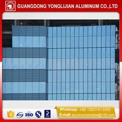 China glass hidden frame curtain wall aluminum profile manufacturer