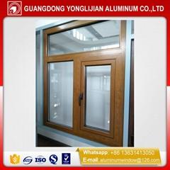 opening window aluminum casement window outswing
