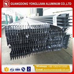 architectural aluminum profile extrusion for window curtain wall