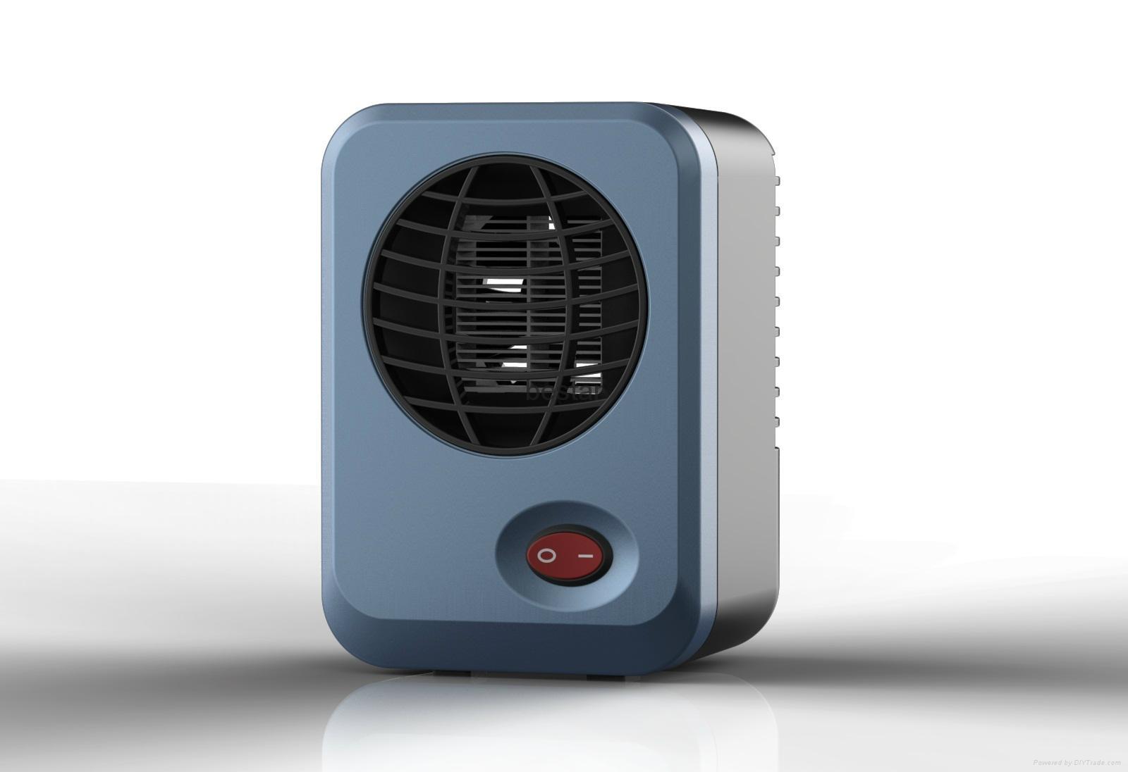 Portable 300W 220V Mini Fan Heater Handheld Electric Heating Device  1