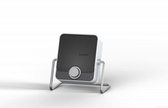 Ceramic Heater with Two Heat Settings, Fully Adjustable Angles With Warm Even He