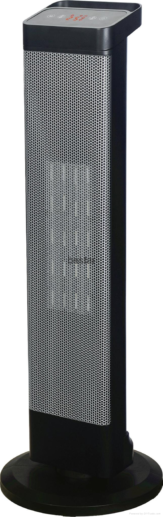 Ceramic Tower Heater with Digital Display  2