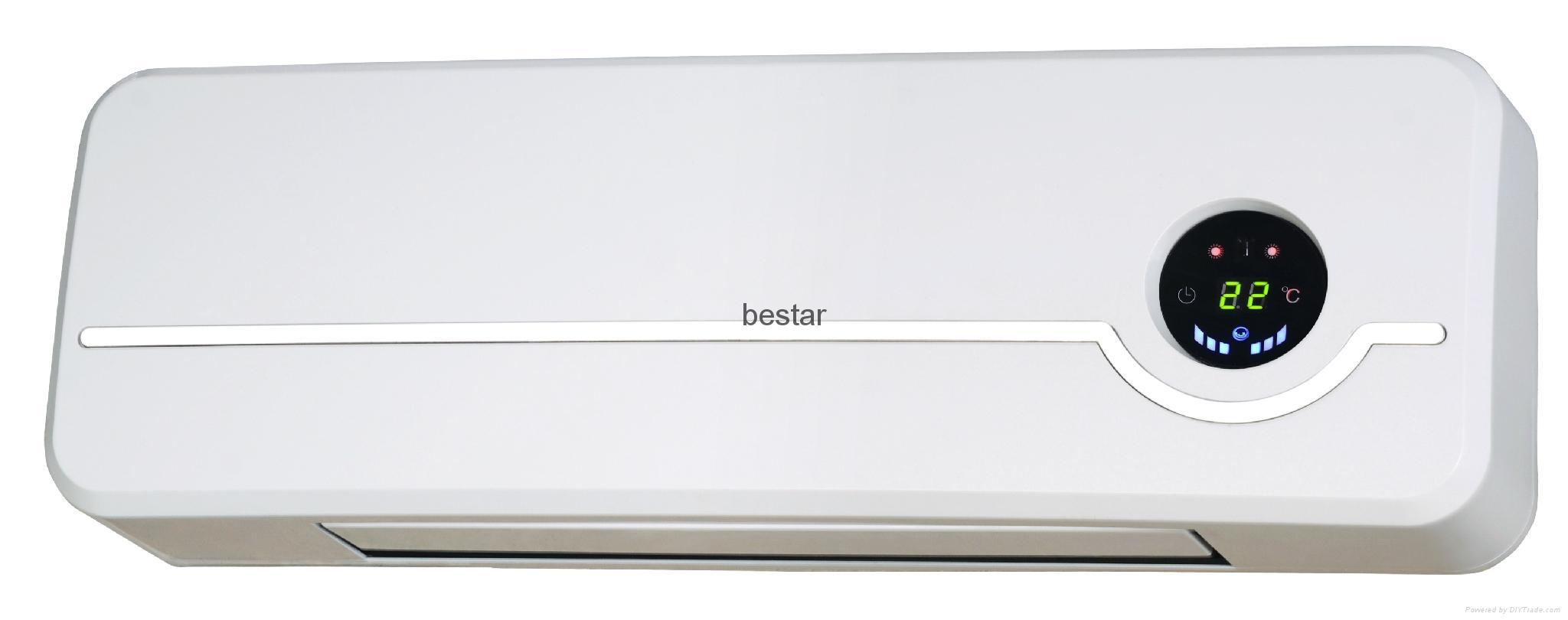2,000 Watt Wall Mounted Electric Convection Baseboard Heater Finish: White 1