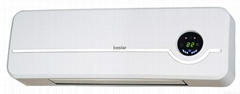 2,000 Watt Wall Mounted Electric Convection Baseboard Heater Finish: White