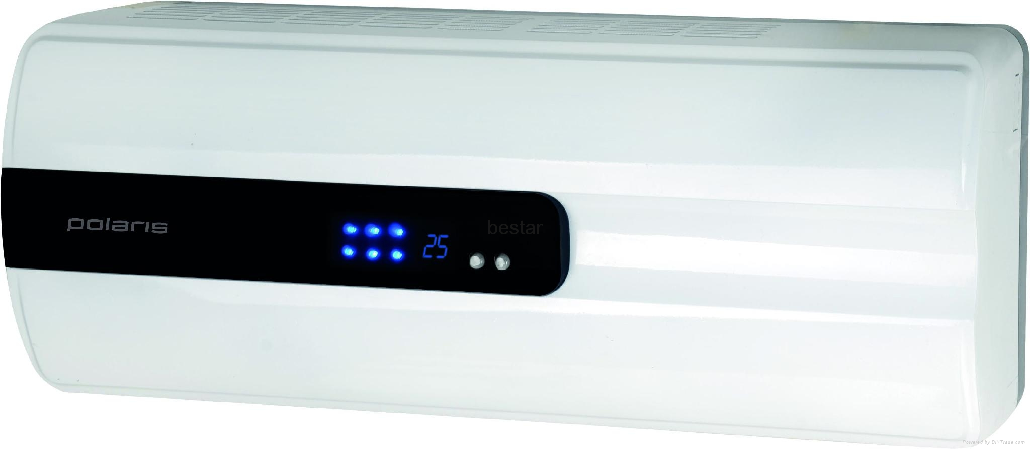 Exceptionnel 2KW OVER DOOR FAN HEATER COOLER WALL MOUNTED REMOTE CONTROL LED DISPLAY  IPX4 1