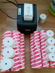 安妮无管芯足米系列热敏收银记录纸