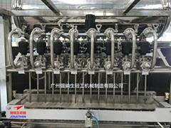JF-7 全自动泡沫液体自流式灌装机