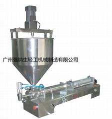 JF-12 半自动液体膏体灌装机