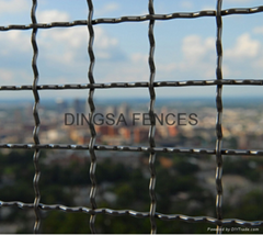 DINGSA Crimped Wire Mesh Fence