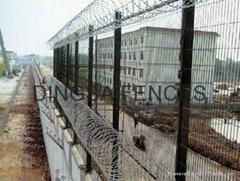 鼎萨监狱围网护栏