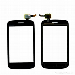 touch panel digitizer screen assembly for lanix S210