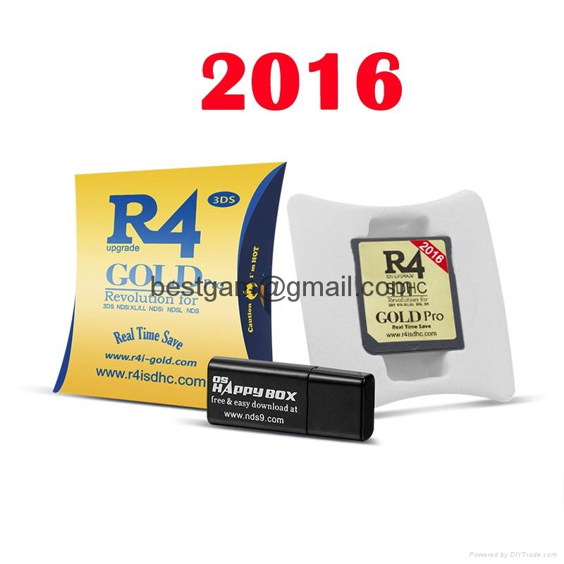 2016 R4i SDHC Dual Core White Card R4i gold For 3DS DSI XL LL NDSL NDS with RTS 2