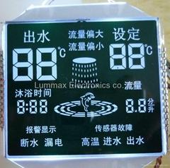 VA type segment LCD Panel