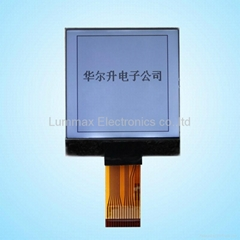 128X128 COG LCD Display (Size: 49.0(W) *55.0 (H) *4.1 (T) mm)