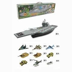 B/O aircraft carrier