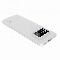 2017 new arrival super thin 5000mAh li-polymer battery power bank
