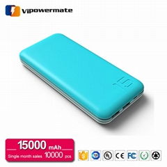 PT-117 15, 000mAh Business Class Power Bank for iPhone 5/6s/Samsung