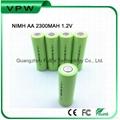 Ni-Mh AA size rechargrable nimh 2300mAh