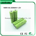 Rechargeable AA 200mah Nimh Battery Cell 1