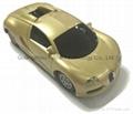 Promotional New Arrival Car shape Power Bank 4000mah Car Model Powerbank