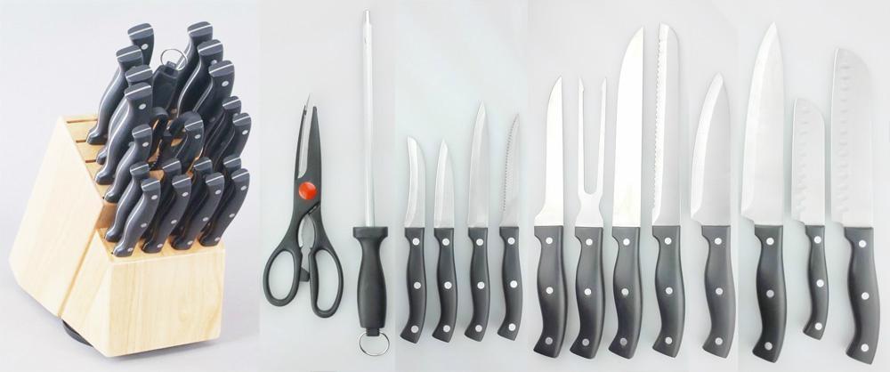 Seahorse Kitchen Knife 22PC set 1