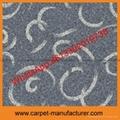 Wholesale Cheap China Tufted Plain Loop Tile Polypropylene PP carpet tiles 3