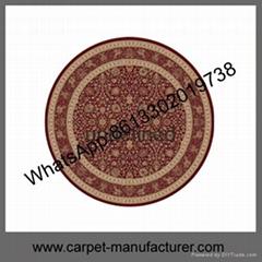 Wholesale Cheap China Handmade Cut Loop Tufted Jacquard Wool Carpet