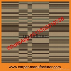 Wholesale Cheap China Machine tufted jacquard cut loop polypropylene Carpet Tile