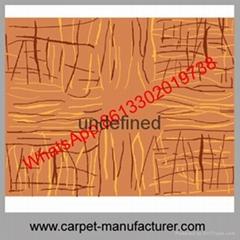 Wholesale Cheap China jacquard loop tile wool handmade carpet with backing