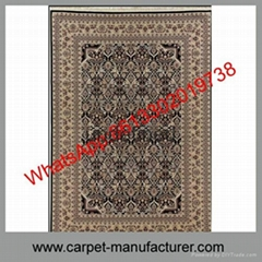 Wholesale Cheap China handmade cut loop jacquard wool carpet rugs