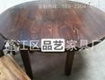 火锅店实木餐桌 餐饮家具