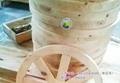 品艺家具松木实木休闲车轮椅