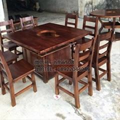 餐廳傢具系列火鍋店餐桌椅