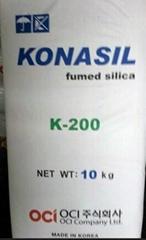 韩国东洋OCI气相二氧化硅白炭黑K200