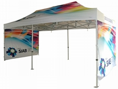 custom logo door canopy gazebo tent for sale