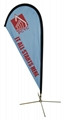 Printing polyester flag and banner for advertisement