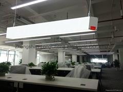 供应DIY拼接高档办公照明吊线灯 led办公室铝材吊线灯具吊灯价格