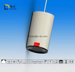 Simple LED round pendant lamp