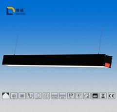 SMD芯片DALI调光系统的线性办公室灯具