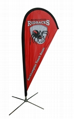 Cheap price promotion teardrop flag banner for sale