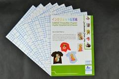 Cuttable inkjet transfer paper