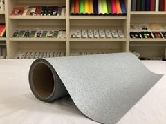 Alizarin PrettyStickers Glitter Si  er Eco-so  ent Printable PU Flex Vinyl Rolls