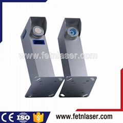 Single beam perimeter laser beam security alarm