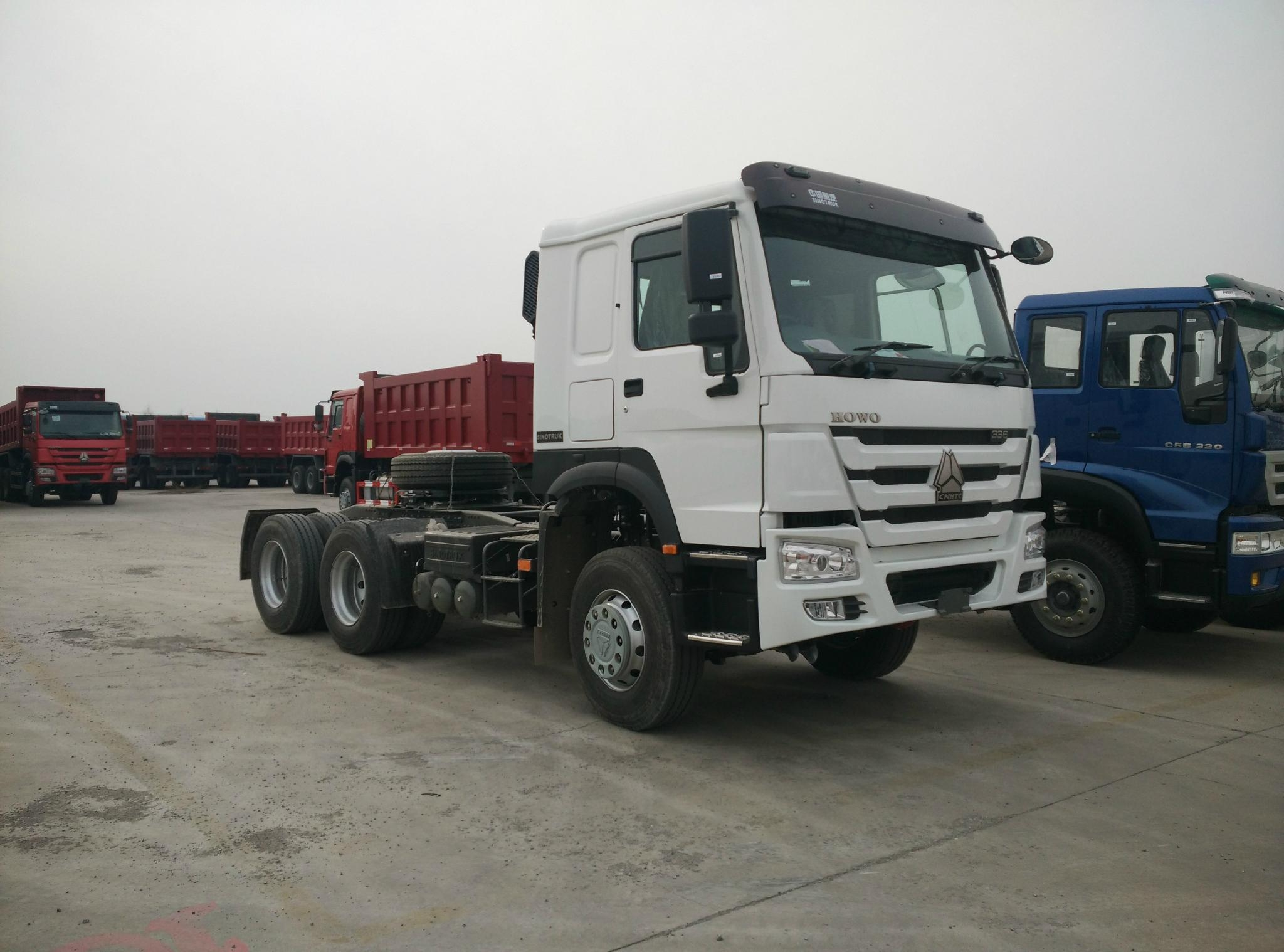 HOWO 6x4 Tractor Truck 3