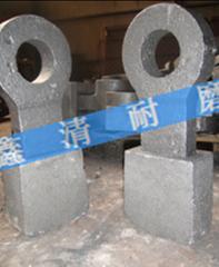 破碎机】高铬锤头价格 高锰钢铸件 耐磨破碎机高锰钢衬板